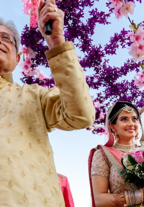 Sonal and Wesley's Destination Wedding in Dubai