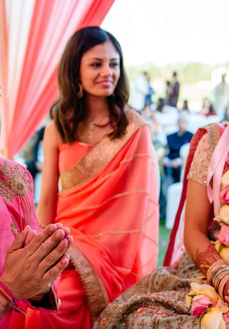 حفل زفاف سونال وويسلي في دبي