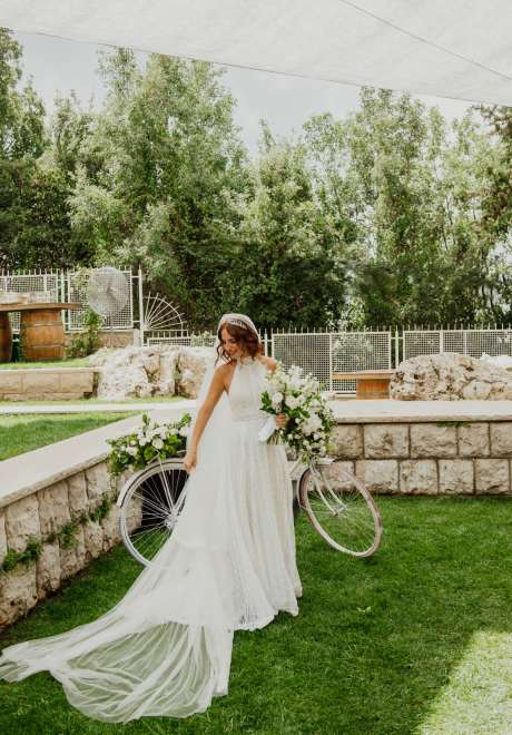 Boho Chic Dream Wedding in Lebanon
