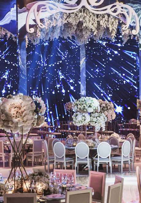 A Palace Inspired Wedding in Lebanon
