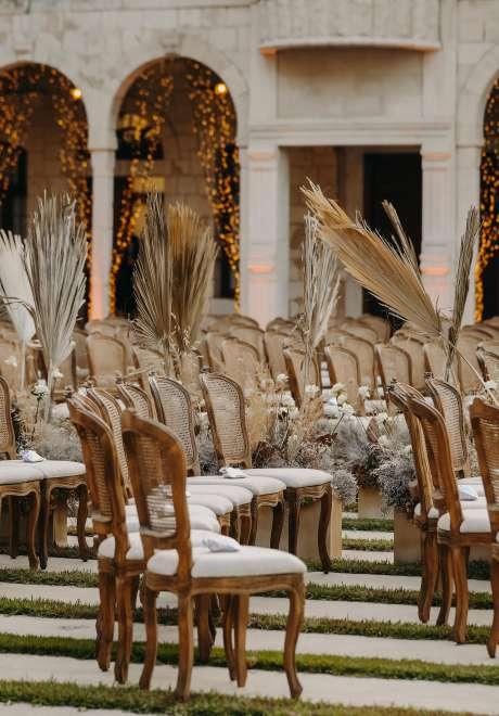 حفل زفاف فريد من نوعه في لبنان