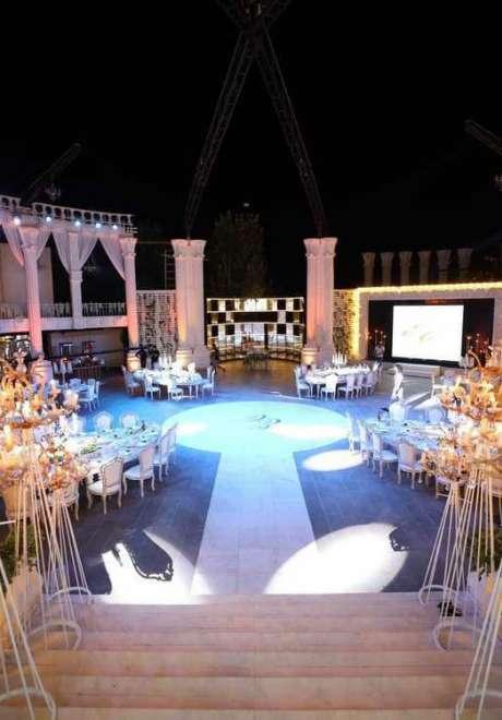حفل زفاف كريستل وإلياس في لبنان