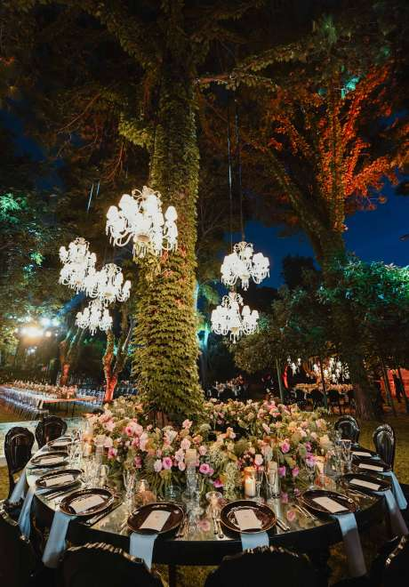 Nature Embracing Royalty Wedding Theme in Lebanon