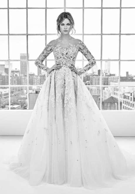 مجموعة فساتين زفافزهير مرادلربيع2018
