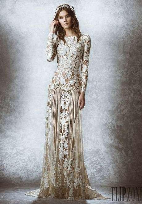 مجموعة زهير مراد لفساتين الزفاف لخريف وشتاء 2016/2015