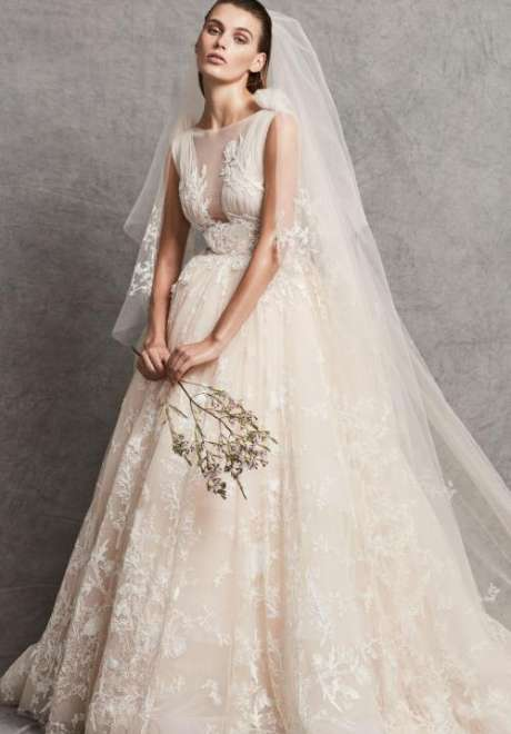 مجموعةفساتين زفاف زهير مراد لخريف 2018