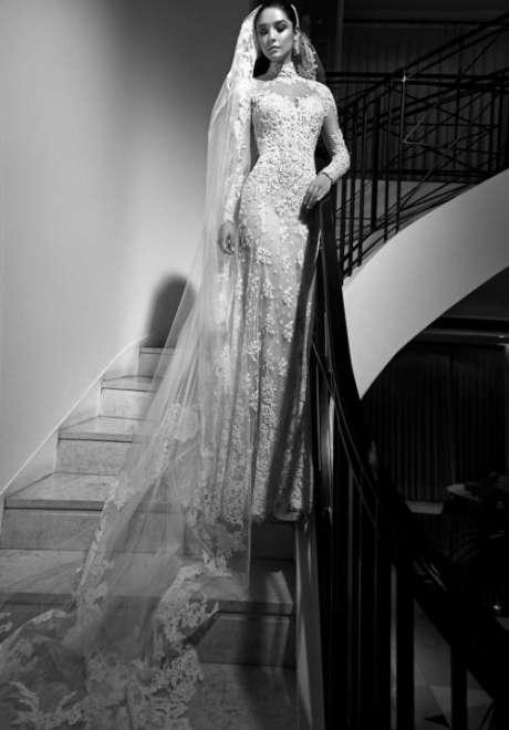 مجموعة فساتين زفاف زهير مراد لخريف2017