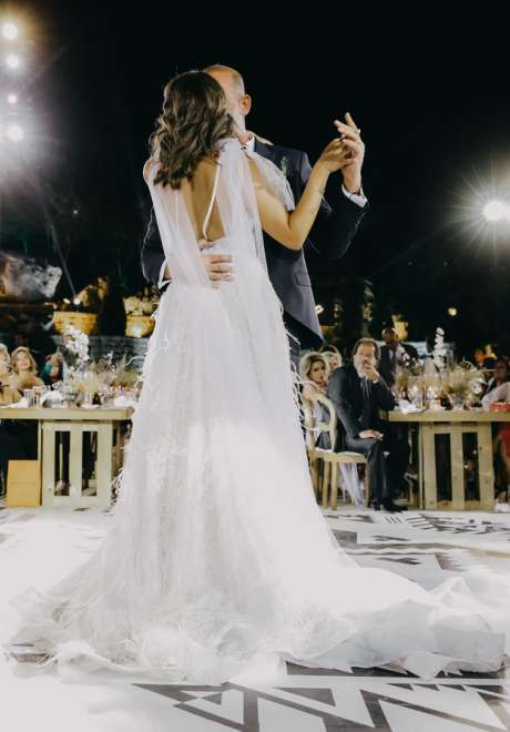 حفل زفاف بثيم بوهو ريفي في لبنان