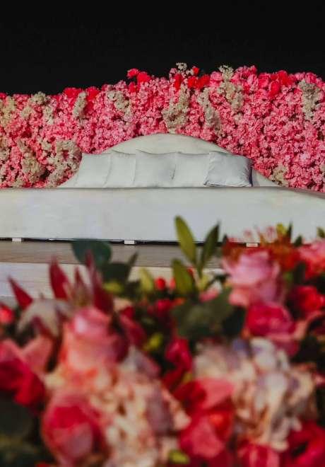 A Luxurious Pink Wedding in Qatar