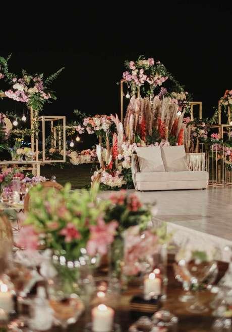 A Bohemian Escape Wedding in Qatar