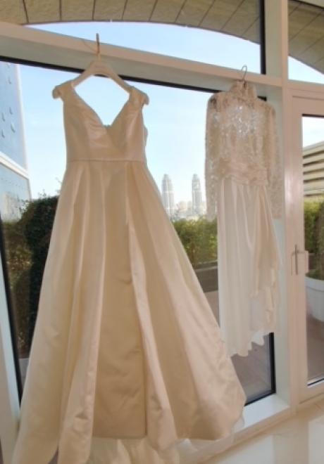 A Chic Alfresco Wedding in Doha