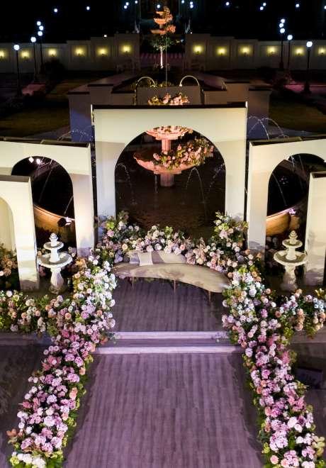 حفل زفاف آل ثاني الملكي الفخم في قطر