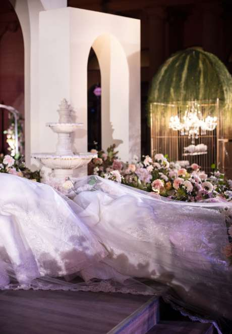 Althani's Luxurious Royal Wedding in Qatar