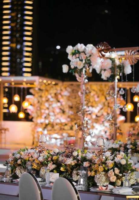 A Mystical Garden Engagement in Dubai 3