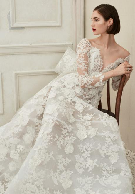 The 2019 Fall Wedding Dresses by Oscar de la Renta