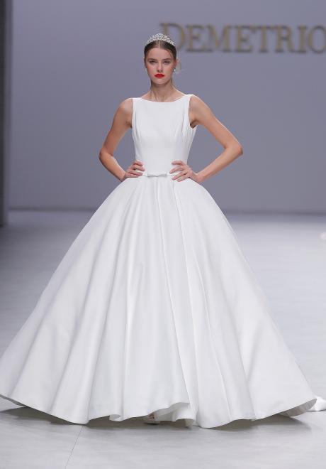 أحدث فساتين زفاف 2020 من ديمتريوس