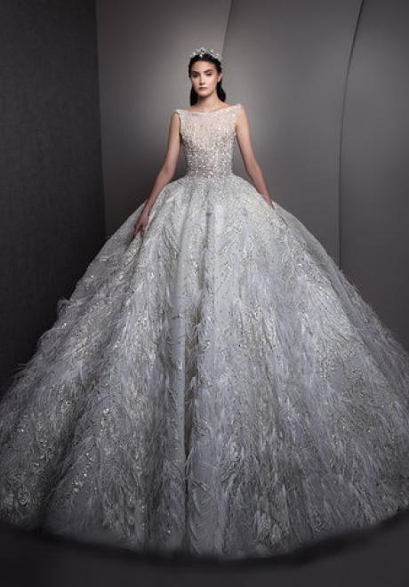 مجموعة فساتين زفاف زياد نكد لعام 2019
