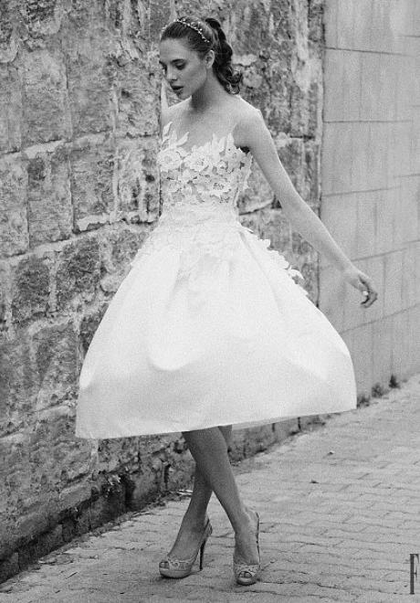 أحدث مجموعات فساتين الزفاف من تصميم تغريد الحاج لعام 2016
