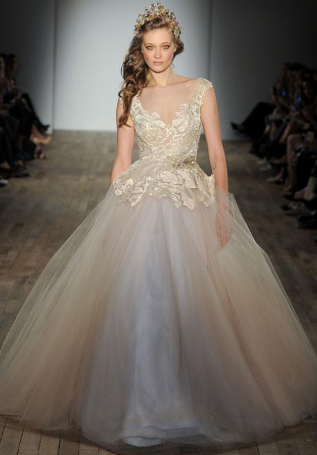 The Lazaro Wedding Dress Collection for Spring 2018