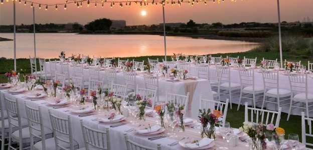 Water Ede Sunset at Arabian Ranches Golf Club in Dubai