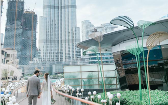 Address Downtown Dubai Wedding