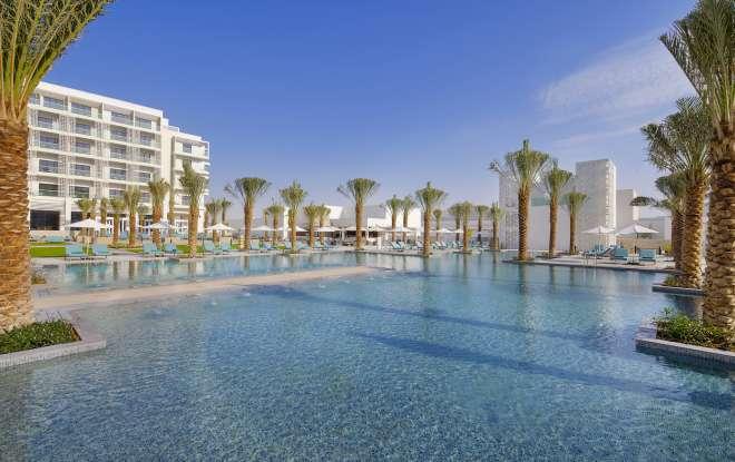 Hilton Abu Dhabi Yas Island - Auhyi Pool