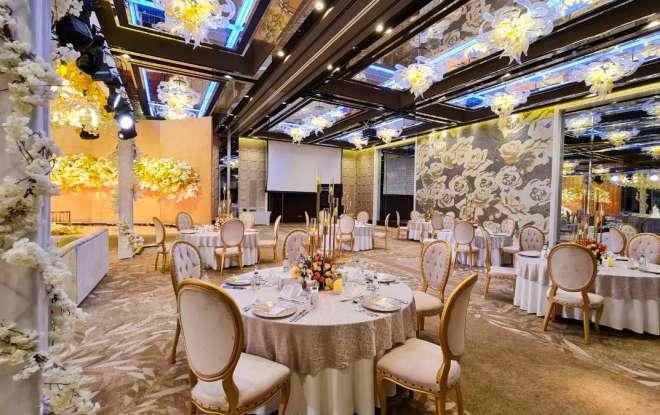 حزمة زفاف قاعة أريام - فندق حياة ريجنسي دبي كريك هايتس
