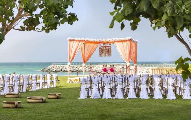 Pearl Garden at Fairmont Ajman - outdoor wedding