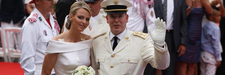 HRH Prince Albert's Wedding Photos
