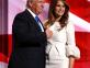 Melania Trump Wears a Wedding Dress to Republican National Convention