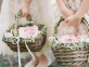 أفكار عصرية لاستخدام السلال في حفل زفافك الربيعي