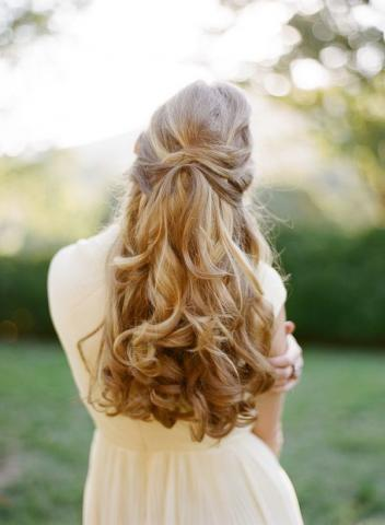 Aurora bridal hair 2