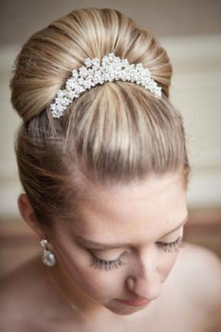 Cinderella bridal hair 1 1