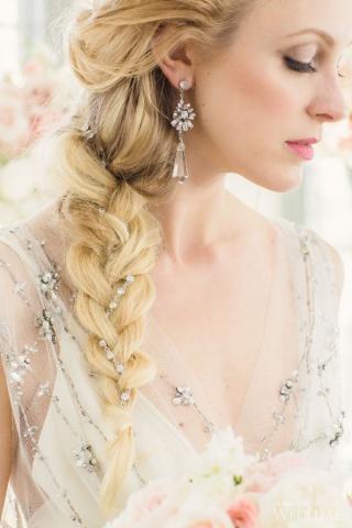 Elsa bridal hair 5