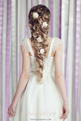 Rapunzel bridal hair 1