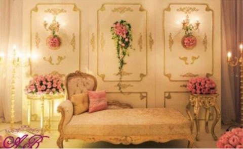 4 Stunning Wedding Koshas by Arab Wedding Planners