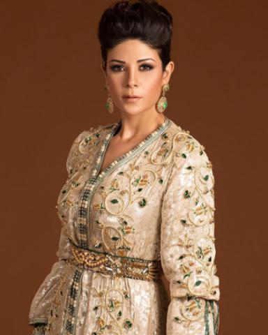 Your Ramadan-Style Inspiration From Moroccan Model Leila Hadioui