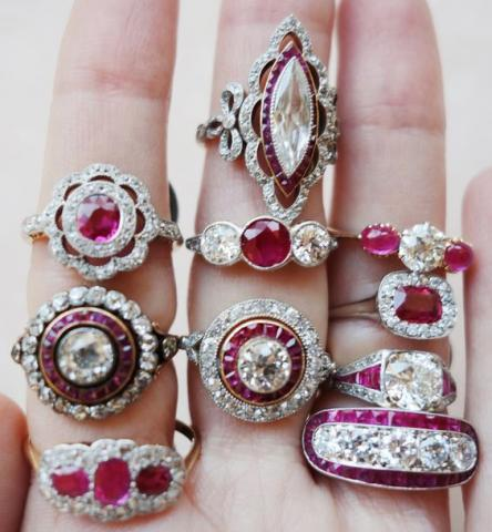 Timeless and Glamorous Ruby Engagement Rings You Will Love