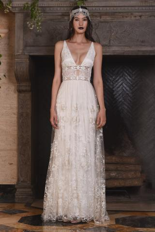 Claire Pettibone's 2017 Fall Bridal Collection at New York International Bridal Week
