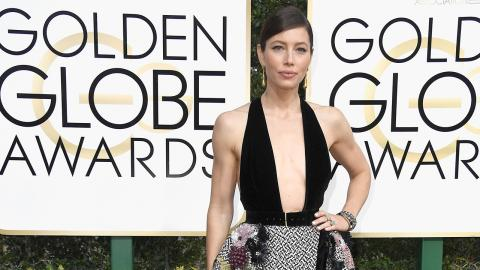 Celebrities Who Wore Dresses by Arab Designers at The Golden Globes 2017