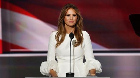 أجمل إطلالات ميلانيا ترامب سيدة أمريكا الأولى