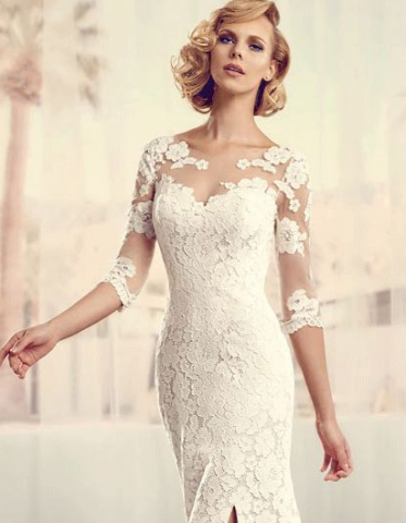 Bridal Fashion Trend: Wedding Dresses with Slits