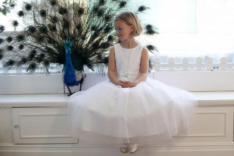 Enchanting Flower Girl Dresses By Nicki Macfarlane