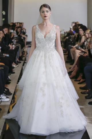 The Unique Justin Alexander Bridal Collection for Spring/Summer 2018