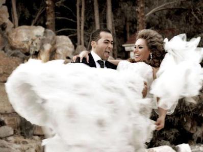 Qamar Khalaf and Mihyar Khdour's Wedding 3