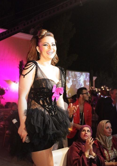 Diana Karazon at Toni Qattan's Wedding