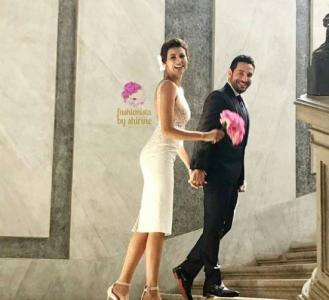First Pictures From Wissam Breidy and Rym Saidi's Wedding