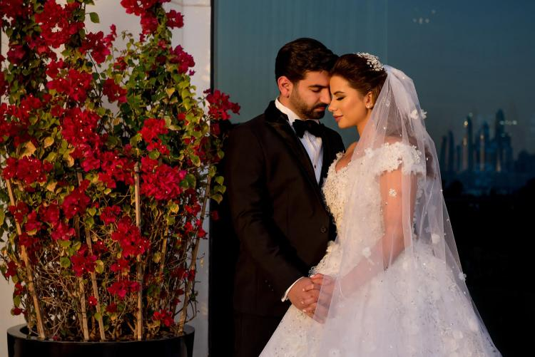 Pictures of Iman and Mohamad's Wedding in Dubai