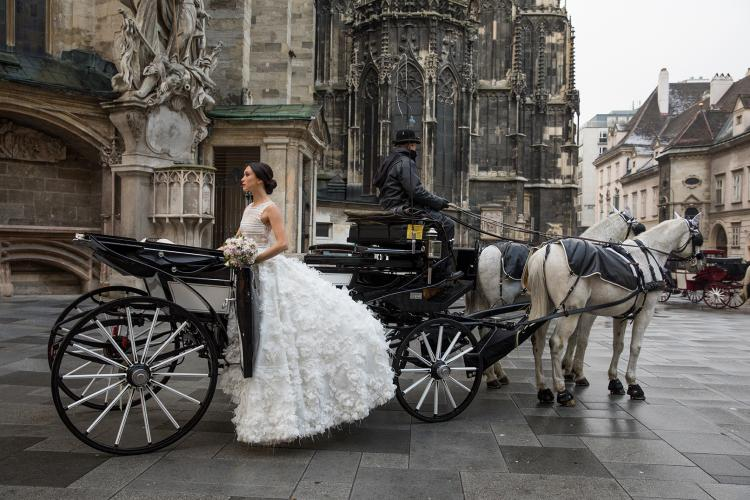 "New Jacy Kay Bridal Collection Reflects ""The Love of Vienna"""