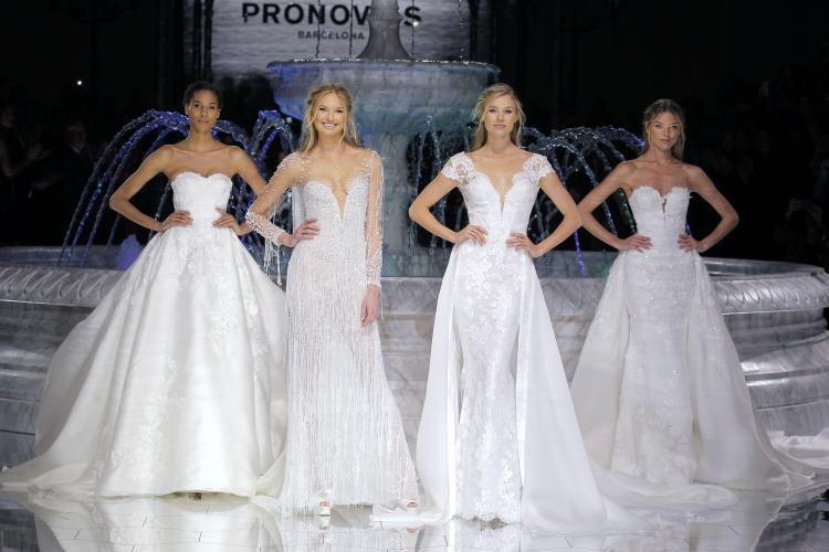 Pronovias to Open Barcelona Bridal Fashion Week